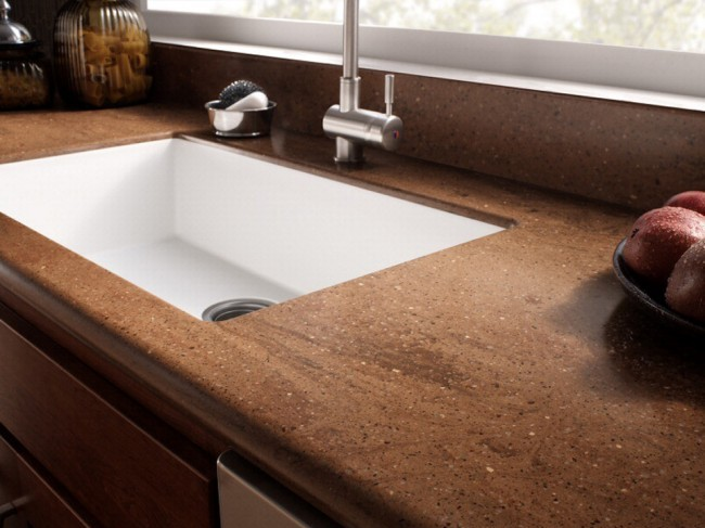 Corian countertops beverin solid surface inc for Corian countertops
