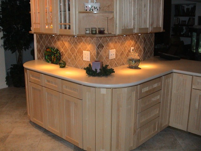 Corian Countertops natural maple cabinetry and linen corian countertop « beverin